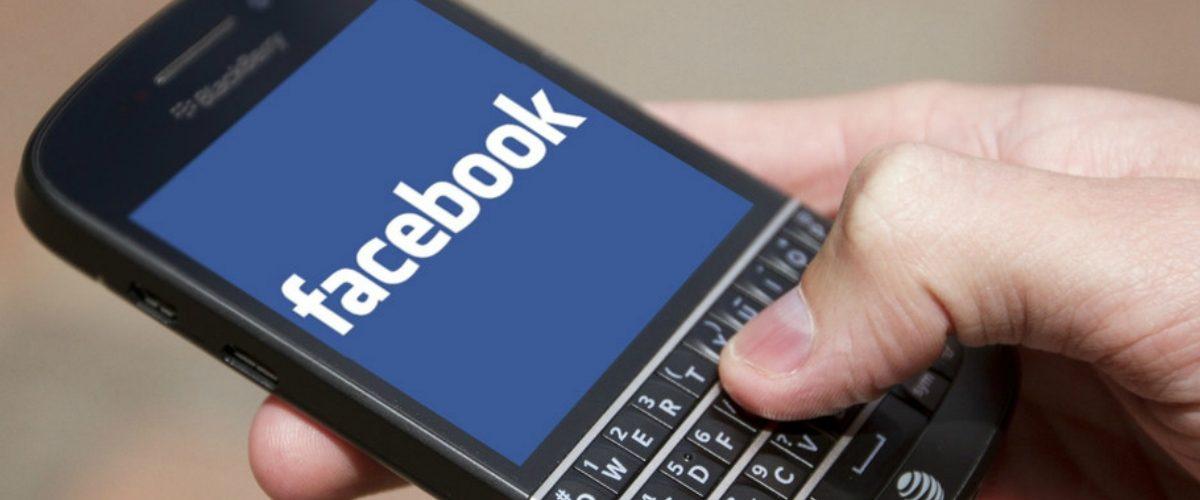 BlackBerry demanda a Facebook por 'robar' su tecnología