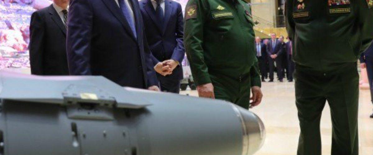 Vladimir Putin bombardea Florida en un video donde muestra sus nuevas armas nucleares