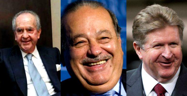 Ellos son los 5 mexicanos más ricos del país
