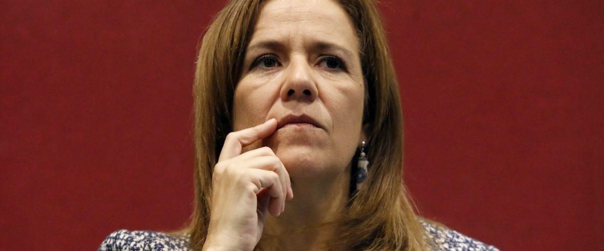 #VámonosalÁngel Twitter se burló de este detalle en el inicio de campaña de Margarita Zavala