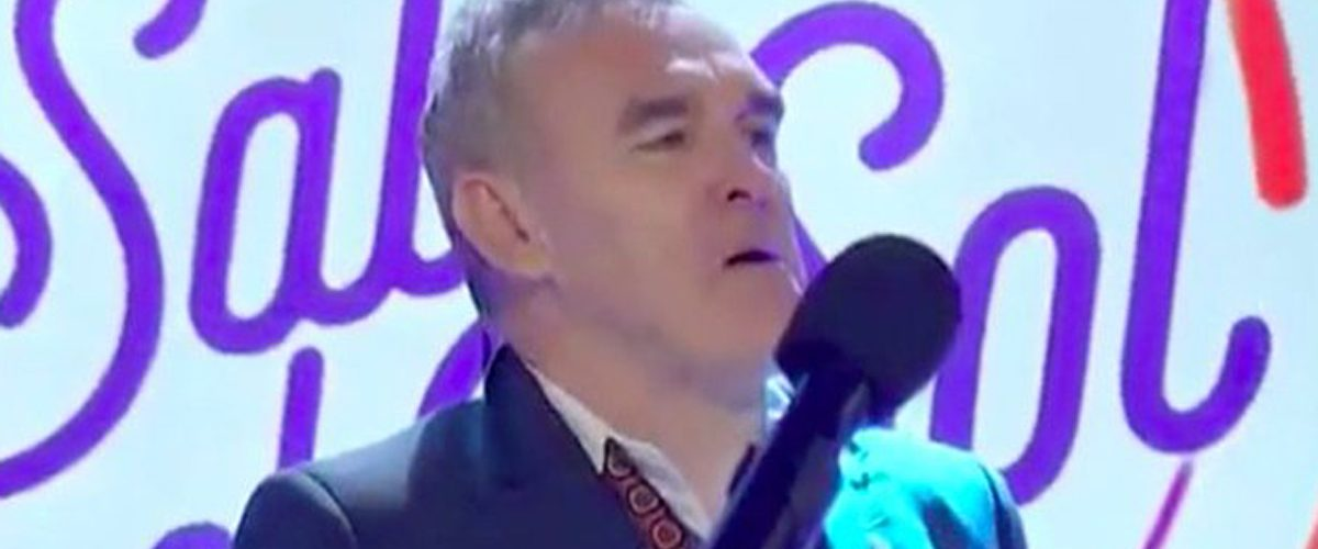 La presentación de Morrissey que enloqueció a las redes sociales