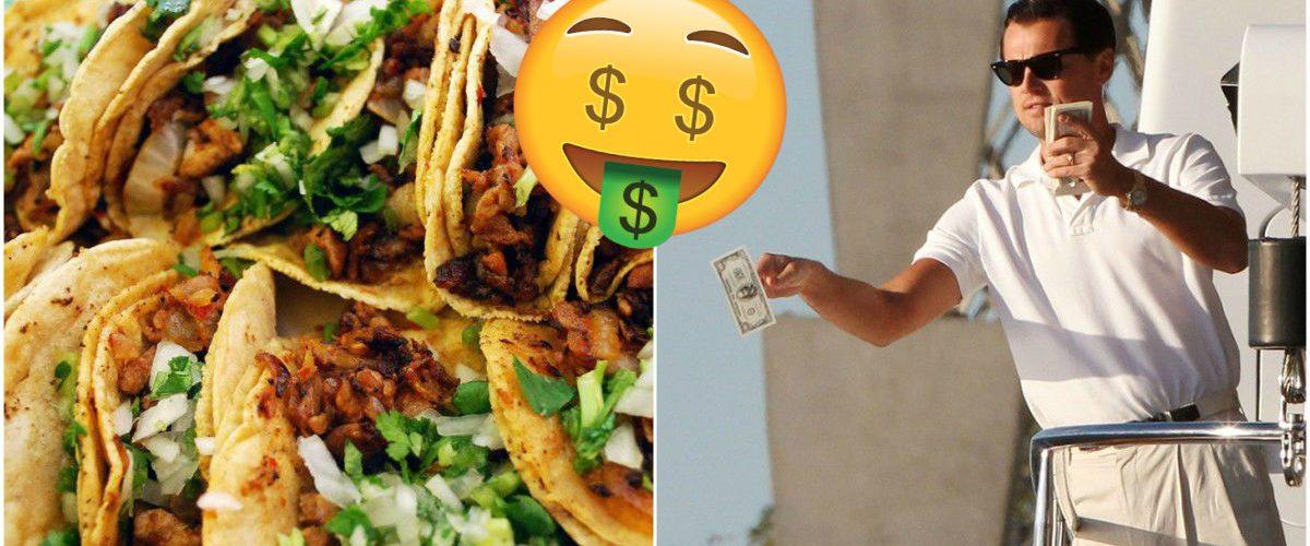 Este es el taco más caro del mundo y sí, es 'hecho en México'