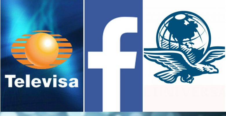 Televisa y El Universal comenzarán a enviar alertas de sus noticias en Facebook