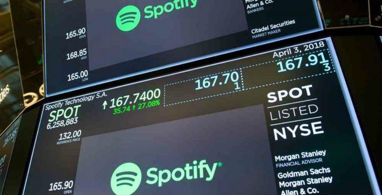 Spotify debutó en la bolsa y la bandera Suiza fue izada por error