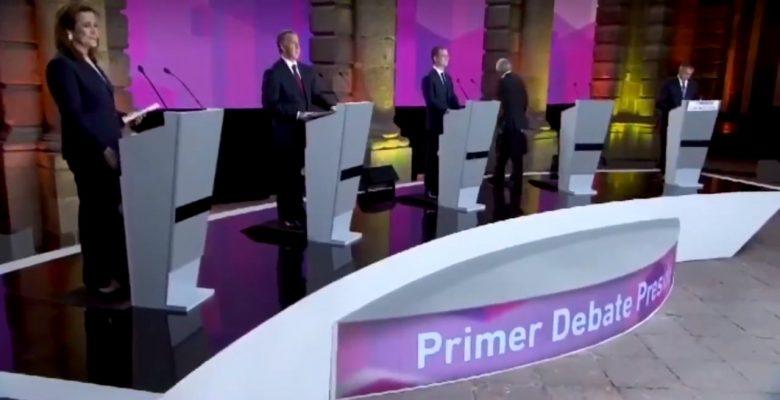#Recuento: Esto fue lo bueno, lo malo y lo feo del primer debate presidencial
