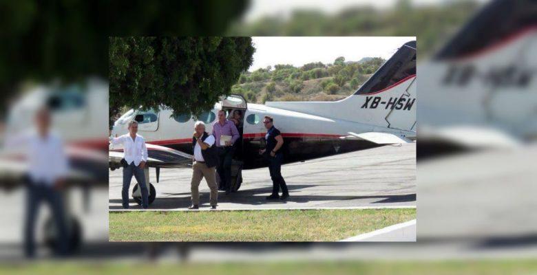Esta es la avioneta privada en la que viajó AMLO