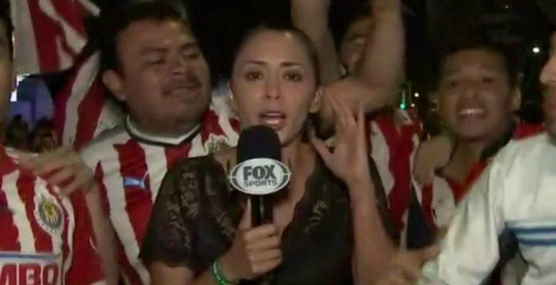 #Ofensivo: Acosan a reportera de FOX Sports durante transmisión en vivo