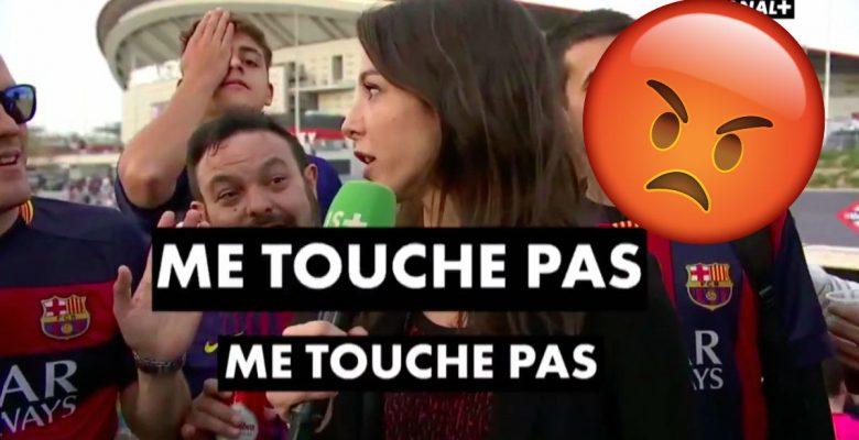 Periodista francesa puso en su lugar a aficionados culés que la acosaban