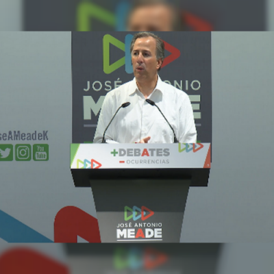 """El nuevo reto que Meade lanzó a los presidenciables y les pide """"que no le saquen"""""""