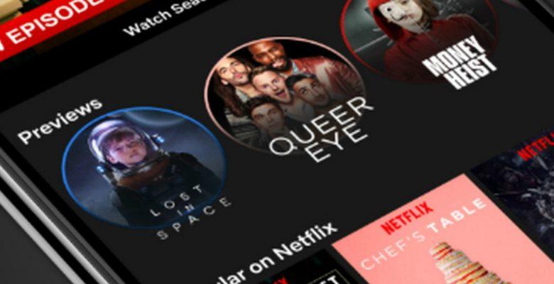 Netflix le entra al mundo de las Stories como Instagram y Facebook