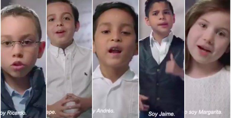 """El video de los """"pequeños candidatos"""" que está dando de qué hablar"""