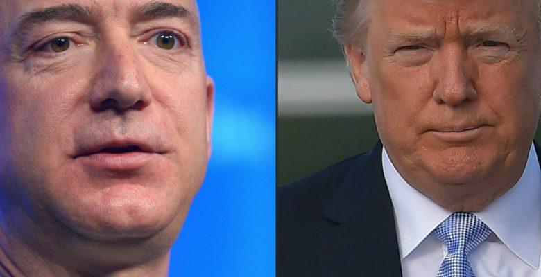 Las claves del pleito a muerte entre Trump y el gigante del comercio electrónico, Amazon