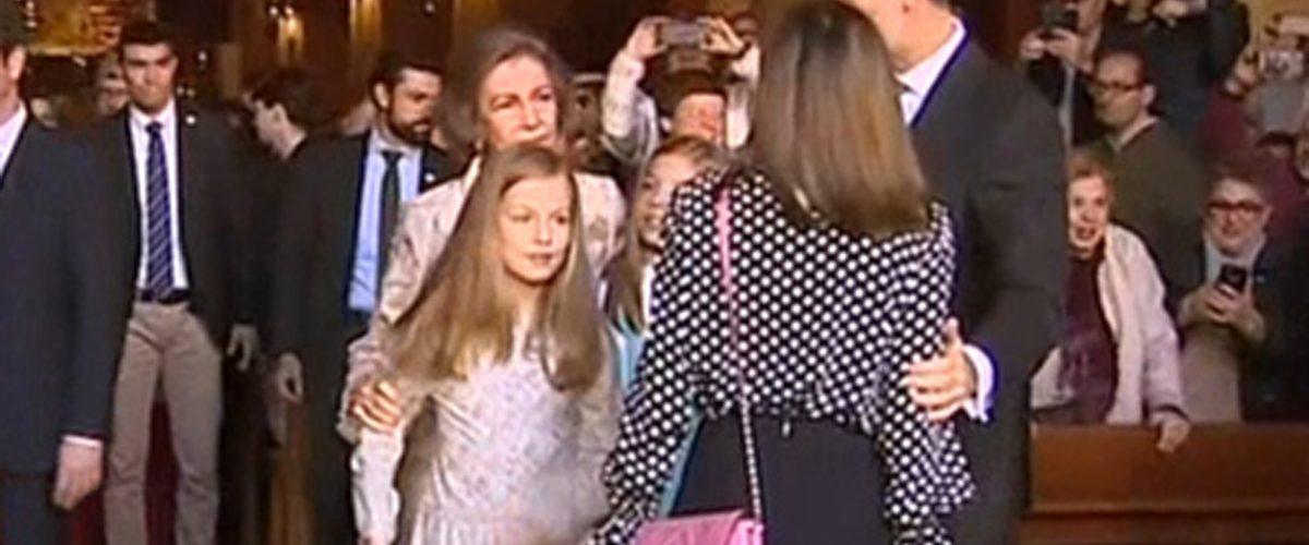 El polémico video de la familia real española que le da la vuelta al mundo