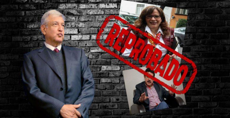 #Reprobados: Los 'amigos' de AMLO que integran el 'cuadro de horror'