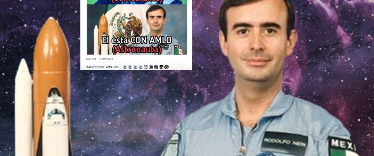 El astronauta Neri Vela se burla de Eugenio Derbez y las redes estallan