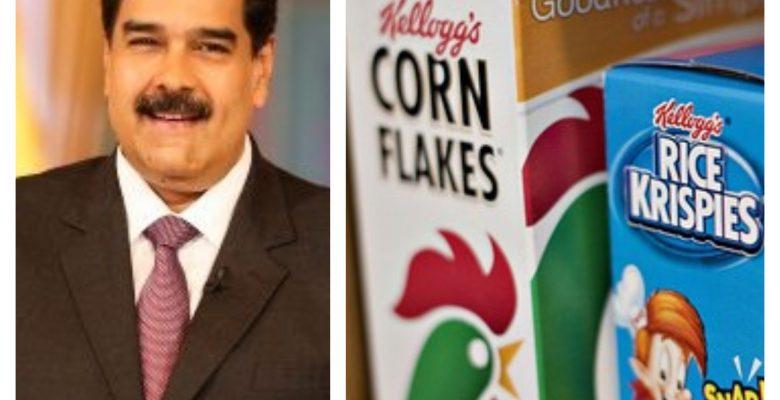 Kellogg's cierra en Venezuela y Maduro toma el control de la planta