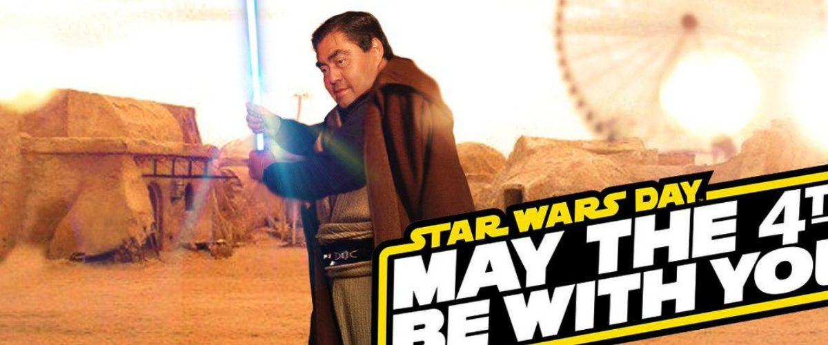 Políticos se suben al tren del Día de Star Wars y arruinan la saga para todos