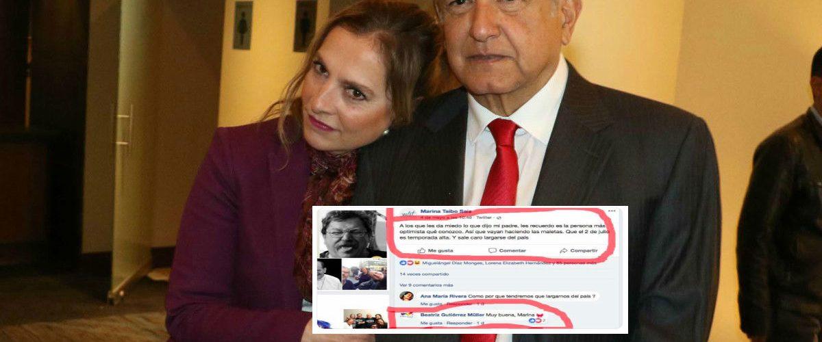 El mensaje en Facebook que pone en aprietos a esposa de López Obrador