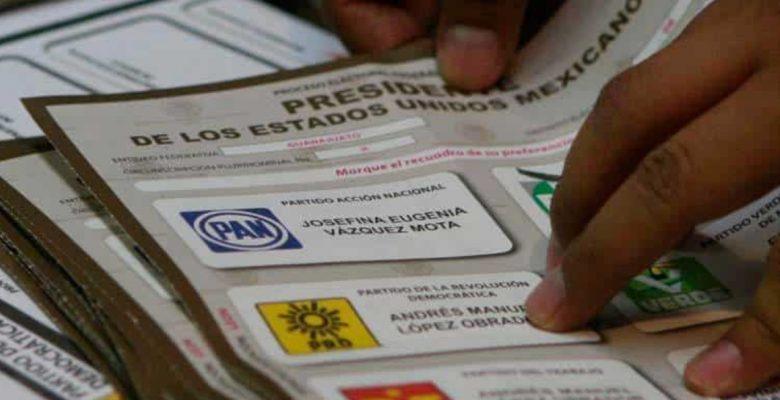 INE reconoce error en MILES de paquetes para voto en el extranjero