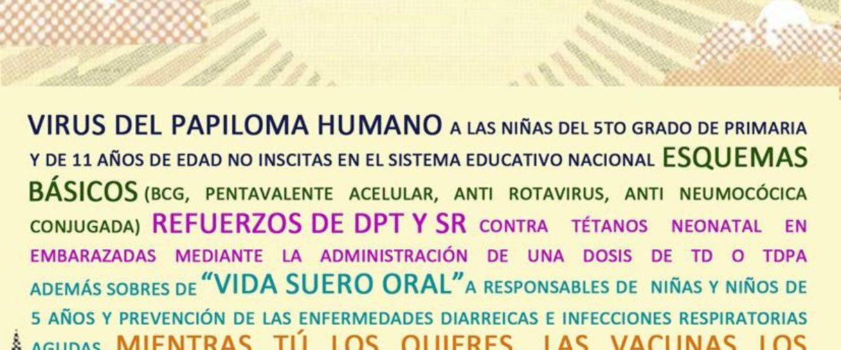 IMSS usa el cartel del Corona Capital 2018 para promover semana de vacunación