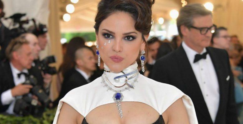 Así hizo estallar las redes el vestido de Eiza González