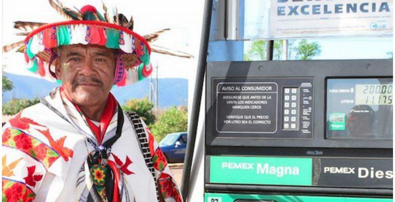 Huicholes abren la primera gasolinera comunitaria de Pemex para impulsar su economía