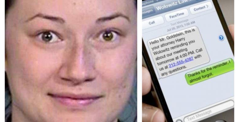 Encarcelan a mujer por acosar a hombre con cientos de mensajes de texto al día