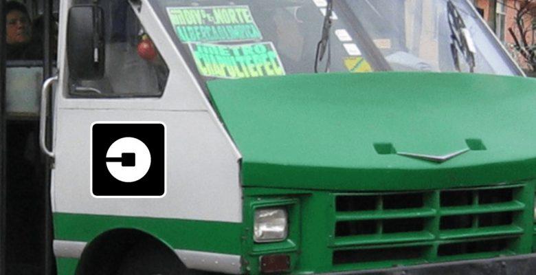 #SúbaleHayLugares Uber le hará la competencia a…¿los microbuses?
