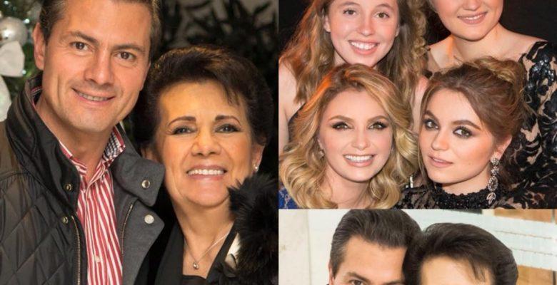 Peña Nieto felicita a su mamá por el 10 de mayo y así reaccionaron los mexicanos