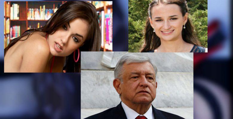 ¿Qué tiene que ver una famosa actriz porno con la hija de Carlos Salinas y AMLO?