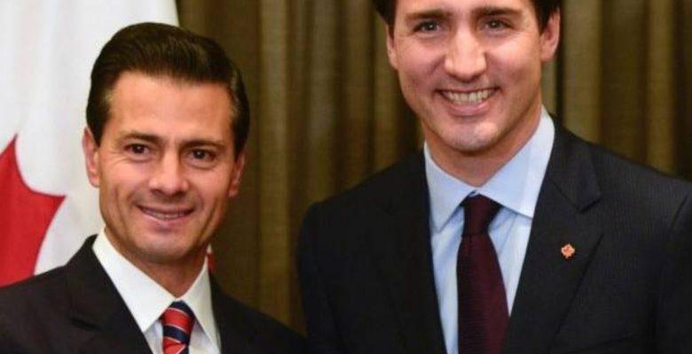 #TirandoParo Trudeau y Peña se unen contra aranceles de Estados Unidos