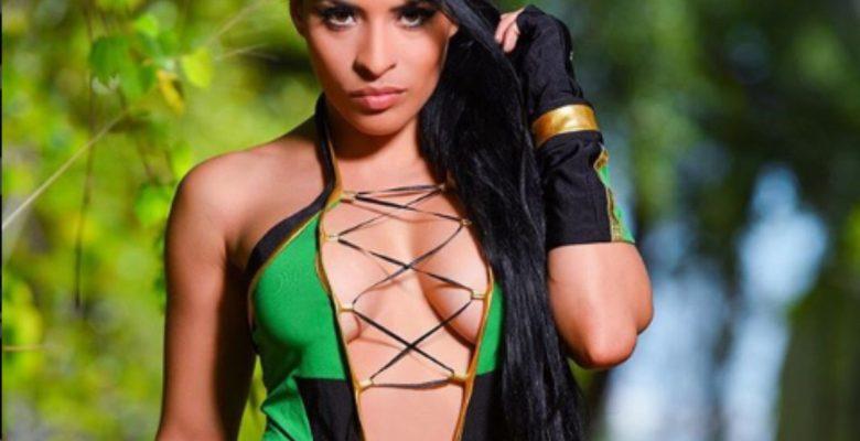 #AhCaray Filtran pack de Zelina Vega, luchadora de la WWE