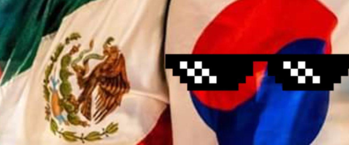 Corea salva a México y las marcas se la rifan en redes