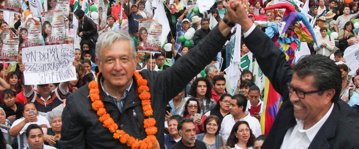 #PUM AMLO anuncia su cierre de campaña en el Azteca y el mundo arde
