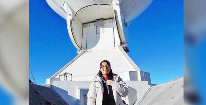 #Genio Mexicana gana premio internacional a la mejor tesis en astronomía