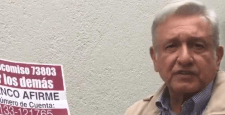 El video que pone en duda el destino del dinero que recaudó Morena para damnificados del sismo