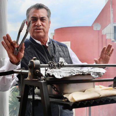 carne asada El Bronco estudiantes CDMX