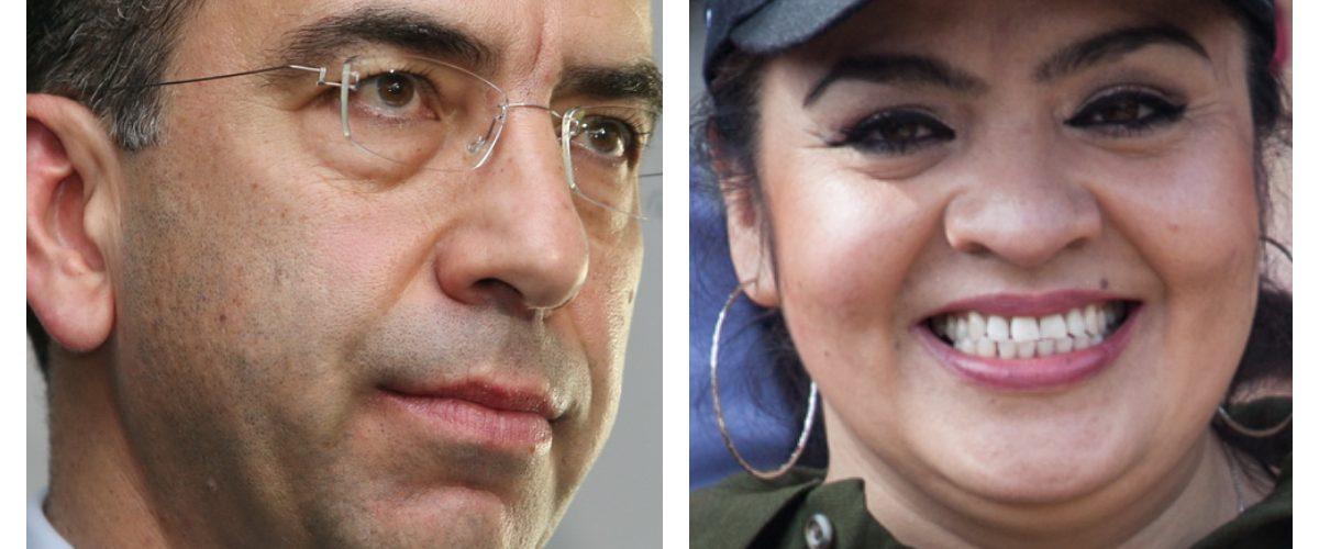 Reaparece Nestora Salgado en mitin de AMLO y pide organizar al 'tigre'