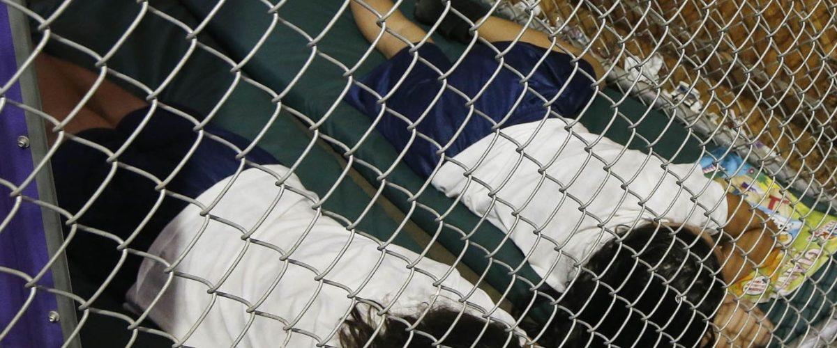 Trump EU migrantes niños jaulas