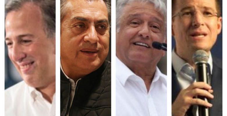 #RumboAJulio: Así avanzan los candidatos en las encuestas de cara al 1 de julio