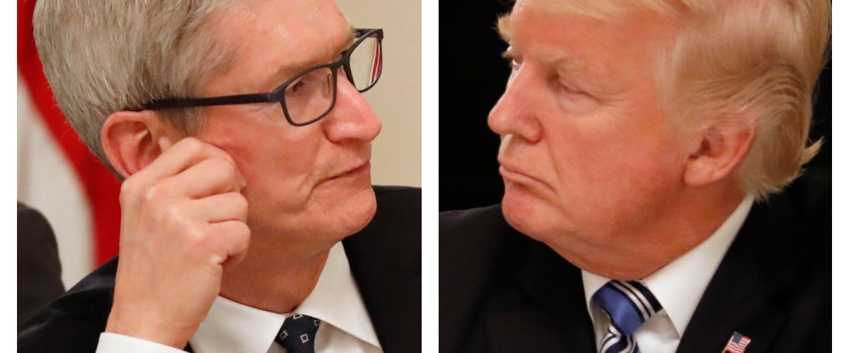 Tim Cook Trump aranceles iphone Apple