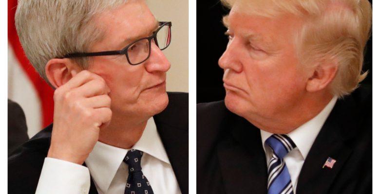 Tim Cook Trump aranceles iphone Apple