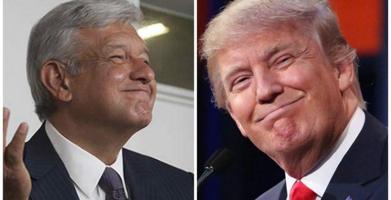 Trump AMLO elecciones EU México