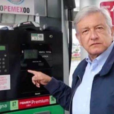 AMLO revela su estrategia para bajar el precio de la gasolina