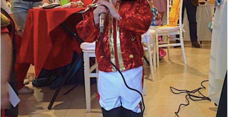 Niña se disfraza de Luis Miguel para su cumpleaños y es lo más tierno que verás hoy