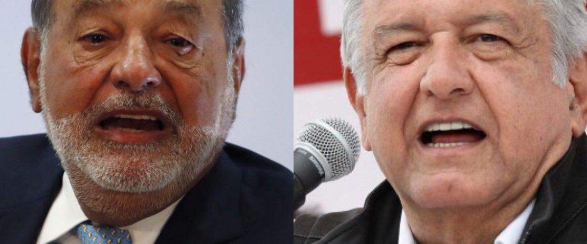 Carlos Slim felicitó a AMLO y aseguró que seguirá invirtiendo en México