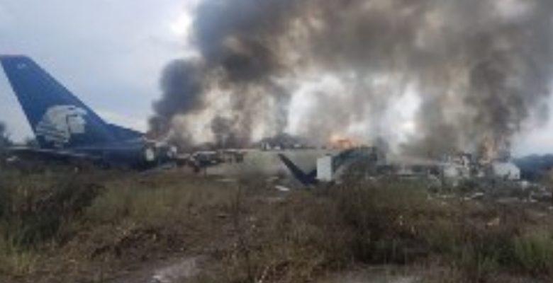 #ÚltimaHora: Se desploma avión de Aeroméxico en Durango