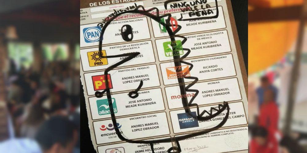 #Increíble: Ciudadanos utilizaron ingeniosos mensajes a la hora de… ¿votar?