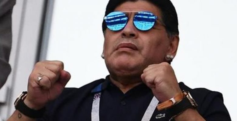 #Golazo: Maradona manda curioso mensaje a López Obrador tras las elecciones