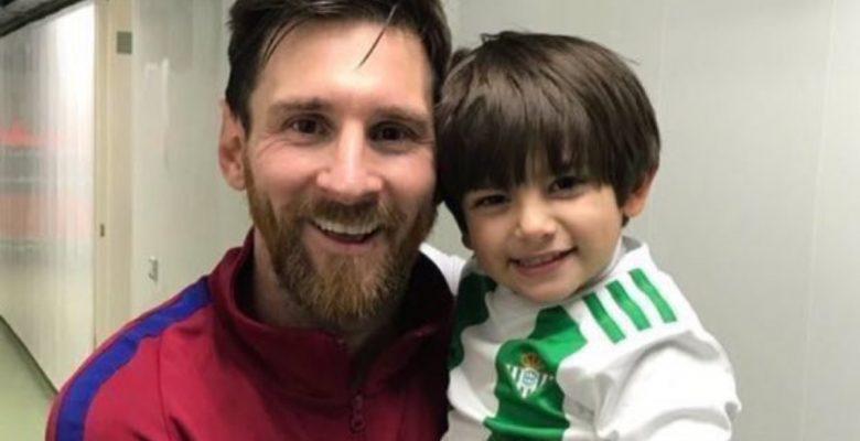 #VIDEO: El hijo de Andrés Guardado conoció a Messi e internet se desbordó de ternura
